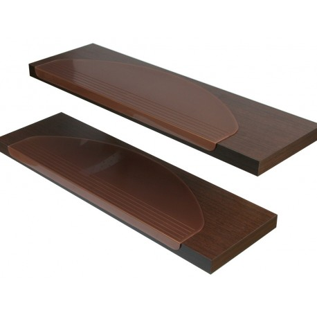 Stufenmatte Durchsichtig Bronze